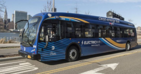 NEW YORK TO ELECTRIFY COMPLETE BUS FLEET